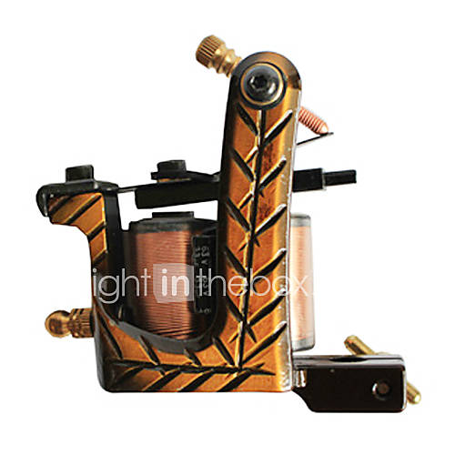 Professional Hand assembled Cast Iron Tattoo Machine Liner and Shader