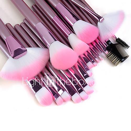22pcs Makeup Brushes set Professional Pink Handle Powder/Concealer/Blush brush Shadow/Eyeliner ...