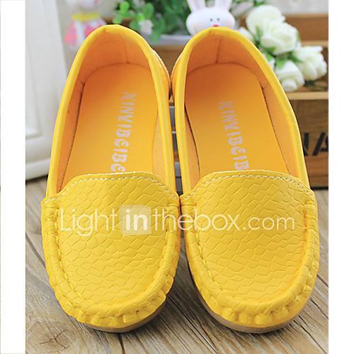 Privé Printemps candy couleur pure Chaussures enfants