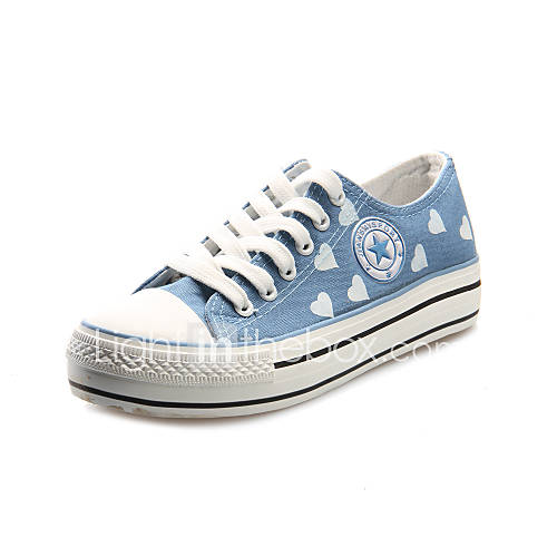 Denim Womenu0026#39;s Low Heel Comfort Fashion Sneakers Shoes(More Colors) 1366427 2016 u2013 $17.99