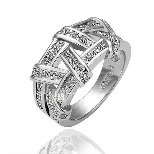 Meles Frauen-18K Diamande Ring