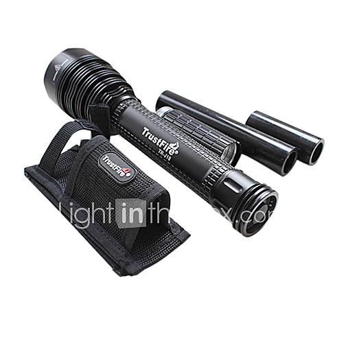 Trustfire Linternas LED / Linternas de Mano LED 8000 Lumens 5 Modo Cree XM-L T6 18650.0 Recargable Múltiples FuncionesAleación de Descuento en Lightinthebox