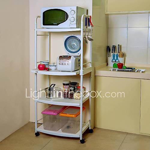 BYN 4-tier DIY Mobile Kitchen Trolley 1344906 2016