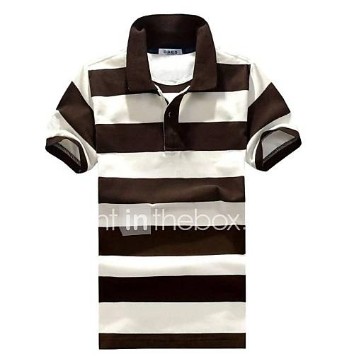 Rayures revers Polo Hommes