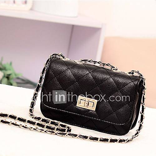 women 39 s fashion leather cute mini cross body chain. Black Bedroom Furniture Sets. Home Design Ideas