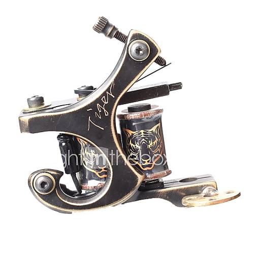 Fttattoo cnc precieze carving brons tattoo machine gun