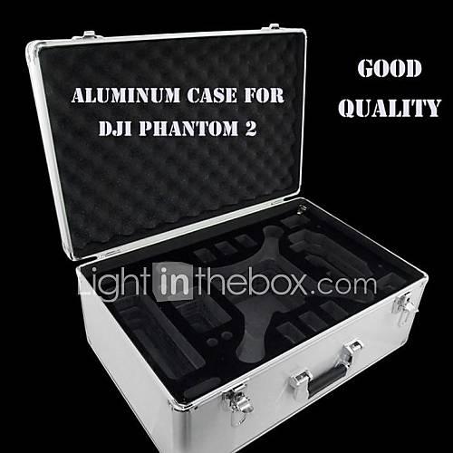 Case en aluminium professionnel EVA dur DJI Phantom Vision 2 avec Key Lock EVA pour Ar Drone Quadcopter FPV