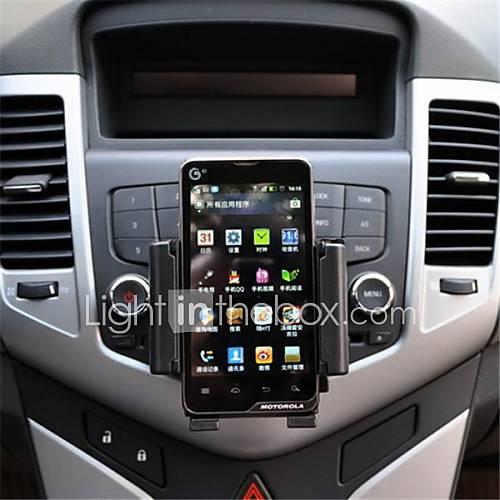 APPS2CAR  Universal Car Cd fente de support de bâti de 47mm à 115mm Largeur Titulaire réglable pour Samsung Mobiles
