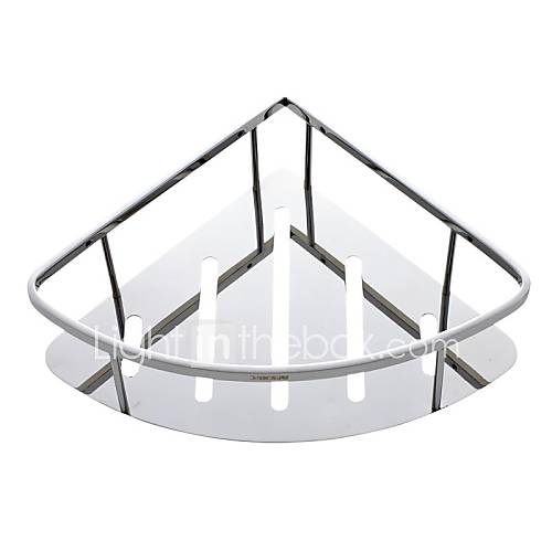 Organizador De Baño Acero Inoxidable:de acero inoxidable pulido Baño Basket repisa porta accesorios de