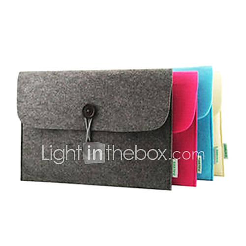 Conception simple matériau de feutre Liner paquet pour MacBook Air (couleurs assorties)
