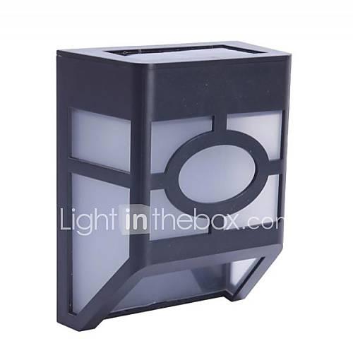 led mission style solar deck accent lights 1466478 2017. Black Bedroom Furniture Sets. Home Design Ideas