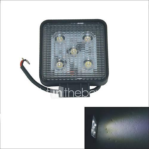 Carking Place 15W 6000K 5 LED lumière blanche de voiture faisceau de tache Offroad travail Light-12V/24V