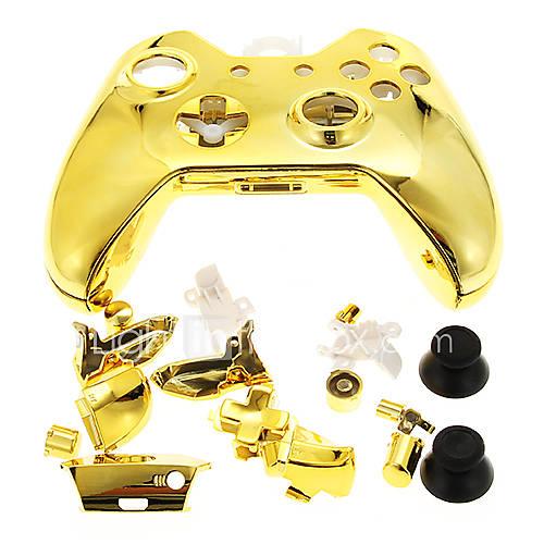 game-controller-caso-shell-para-xbox-um-ouro