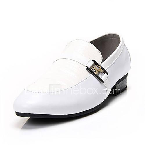Zapatos de hombre mocasines oficina y trabajo vestido for Zapatos de trabajo blancos
