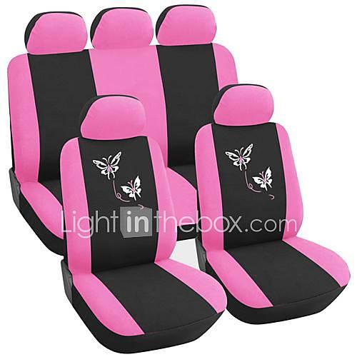 pink sædebetræk