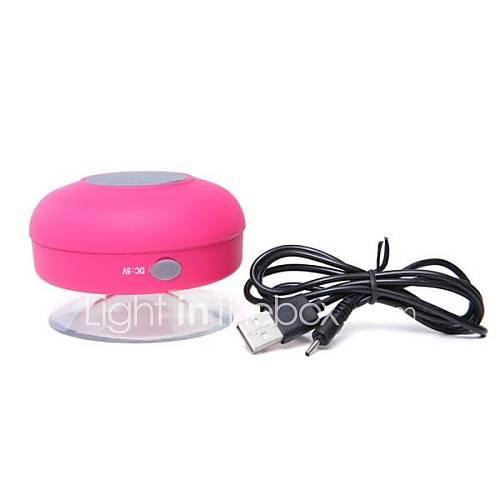 Wireless bluetooth speaker 2.0 channel Portable Outdoor Shower waterproof water resistant Mini