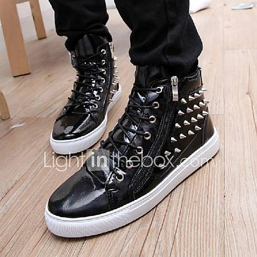 herren kunstleder nieten flach hip hop tanz sneakers schuhe weitere farben 1605080 2017. Black Bedroom Furniture Sets. Home Design Ideas
