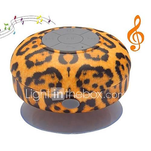 Mini Dusche Ma?e : Leopard Bluetooth Speaker