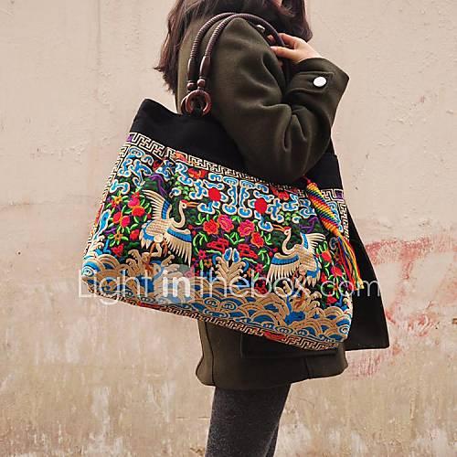 Women s handbag new chinese ethnic style handmade