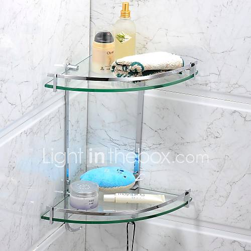 Estantes De Acero Para Baño:Stainless Steel Bathroom Shelves Chrome