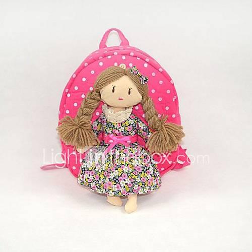 Enfant Garçon est mignon dessin animé fille de la fille avec sac à dos cartable de style de tresses