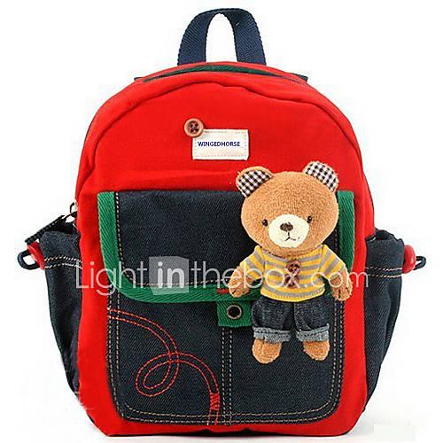 Little Bear Denim Sac à dos enfants
