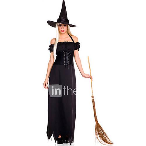 fantasias-de-cosplay-festa-a-fantasia-mago-bruxa-festival-celebracao-trajes-da-noite-das-bruxas-preto-cor-unica-vestido-chapeu-dia-das