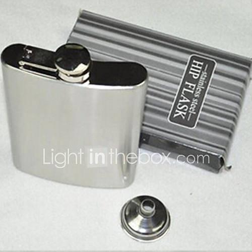 Hip Flask Pocket Bottle For Whiskey Liquor Wine Alcohol8 Oz Stainless Steel