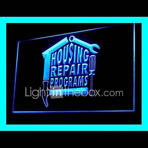 Huis reparatie programma 39 s reclame led licht teken 1685100 2016 - Huis lamp wereld nachtkastje ...