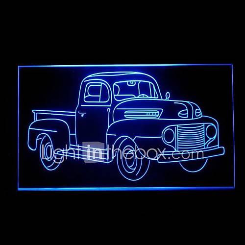 la publicit de voiture de camion conduit de lumi re de signe de 1645948 2016. Black Bedroom Furniture Sets. Home Design Ideas