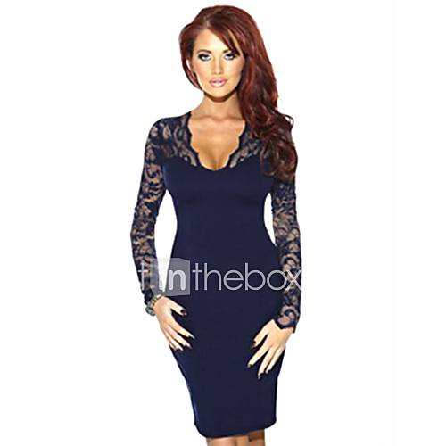 yizoo-ebay-graca-sexy-lace-costura-vestido-azul