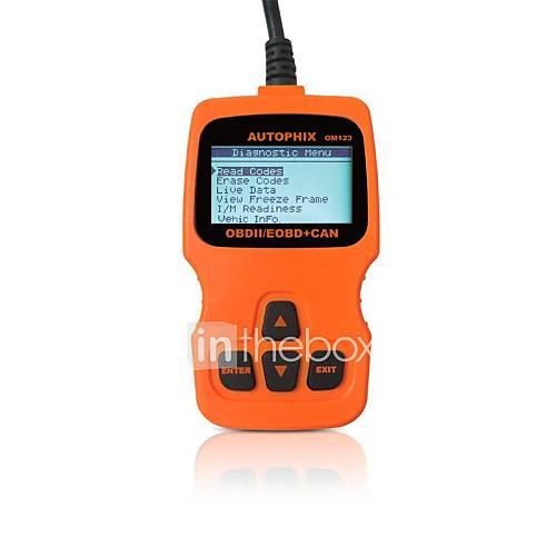 AUTOPHIX Diagnostic Tool OBD OBD2 OBDII EOBD Scanner Code Reader OM123