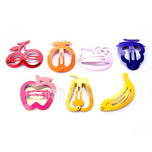 douce peinture de couleur de bonbons colorés clip fruits épingle livraison aléatoire