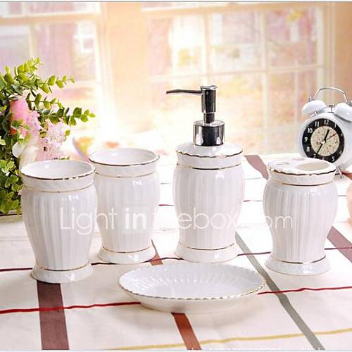 Accesorios de ba o ceramica for Set para bano de ceramica