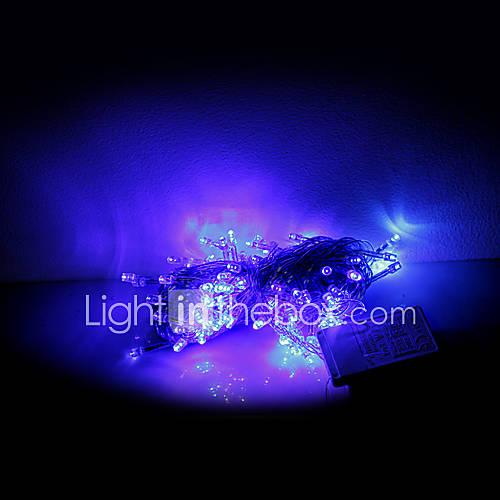 String Of Blue Lights Ubersetzung : 10M 100 LEDs Christmas Halloween decorative lights festive strip lights-Common blue string ...
