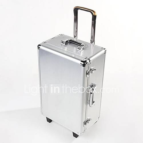 aluminium voyage sac professionnel dji fantôme 2 de vision cas / chariot avec des roues et la boîte de bar