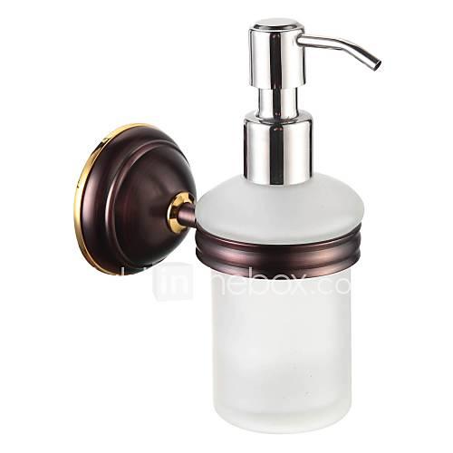 Bathroom Accessories Solid Brass Soap Dispenser Oil Rubbed Bronze 1783260 2017