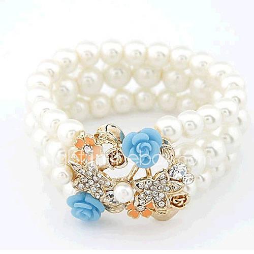 motif de trèfle bracelet de diamant de la mode viva femmes