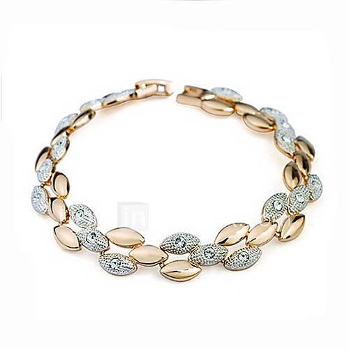 Daisy Damenmode glänzende Steinschmätzer Armband