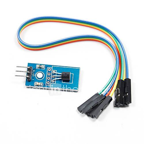 Ds b temperature sensor module for arduino works with
