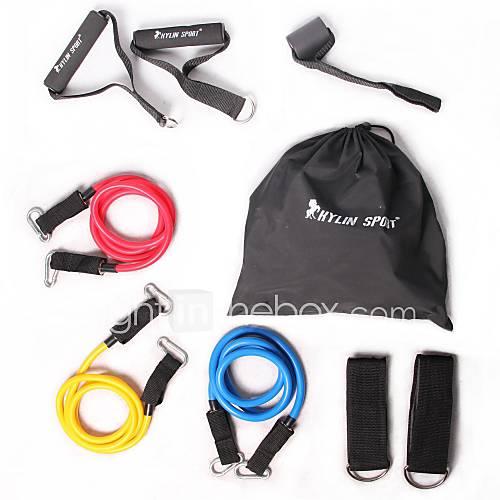 faixas-de-exercicio-conjunto-fitness-exercicio-e-fitness-ginasio-borracha-kylinsport