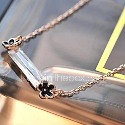 zircon de la mode haut de gamme les colliers de la clavicule de femmes
