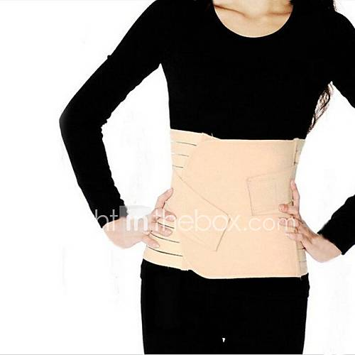 Women's Postpartum Reinforced Thin Waist Tie Belt on Both Sides