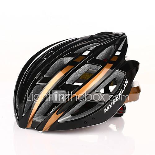 mysenlan 24 évents pc  eps intégralement moulée casque de vélo