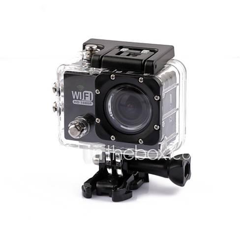 SJ5000 Cámara acción / Cámara deporte 4608 x 3456 WIFI / Impermeable / Anti golpe 2 CMOS 32 GB H.264 30 M Universal Descuento en Lightinthebox
