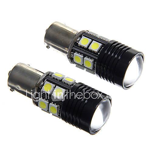 1156 5W 400lm 12-5050smd 1-cree xt-e R3 carro branco luz de marcha atrás (12V / 2 peças)