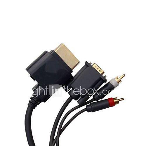video-hd-audio-hdtv-rca-vga-av-cabo-cabo-para-xbox-360-console-microsoft