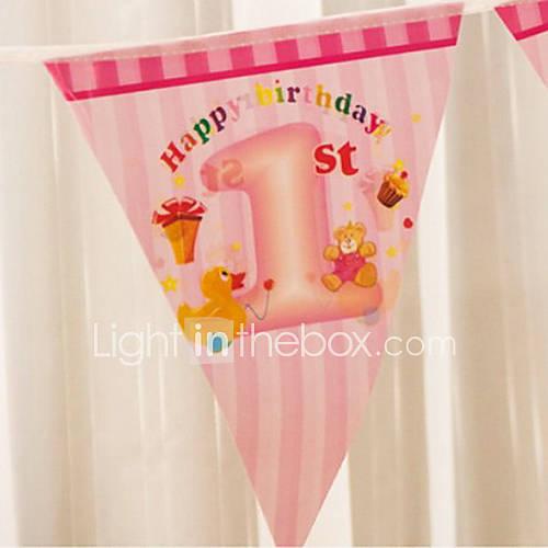 Multicolor gelukkige baby douche verjaardag vlag banner partij accessoire 1995966 2016 - Baby douche ...