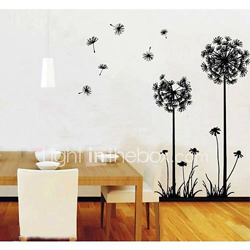 Zooyoo hot sale diy dandelions flowers lemon removable - Ideas para decorar tu salon ...