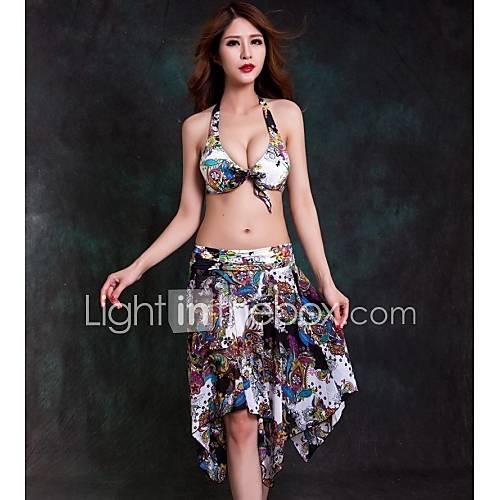 foclassy imprimé floral des femmes trois pièces push up bikini